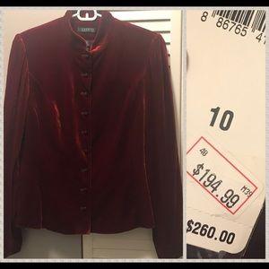 NWT Ralph Lauren velvet blazer ($260!!!) oversized